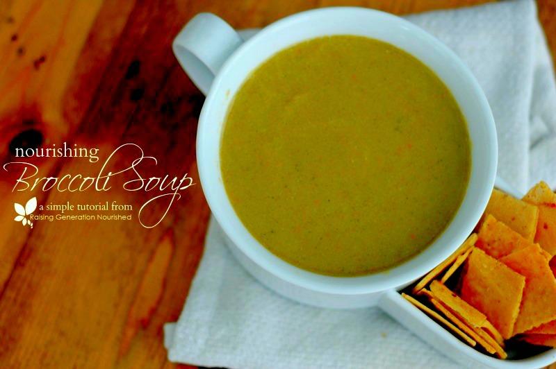 Nourishing Broccoli Soup