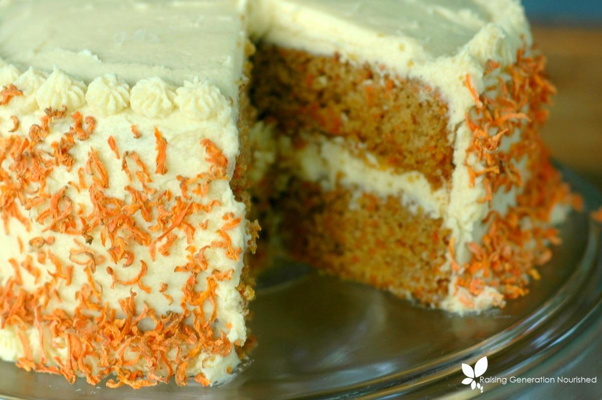 Carrot Cake :: Gluten, Egg, Nut, & Dye Free!