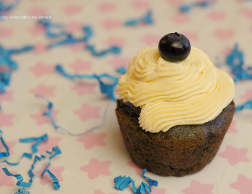 Blueberry Birthday Cupcakes! :: Gluten, Egg, & Nut Free w/ Dairy Free Options
