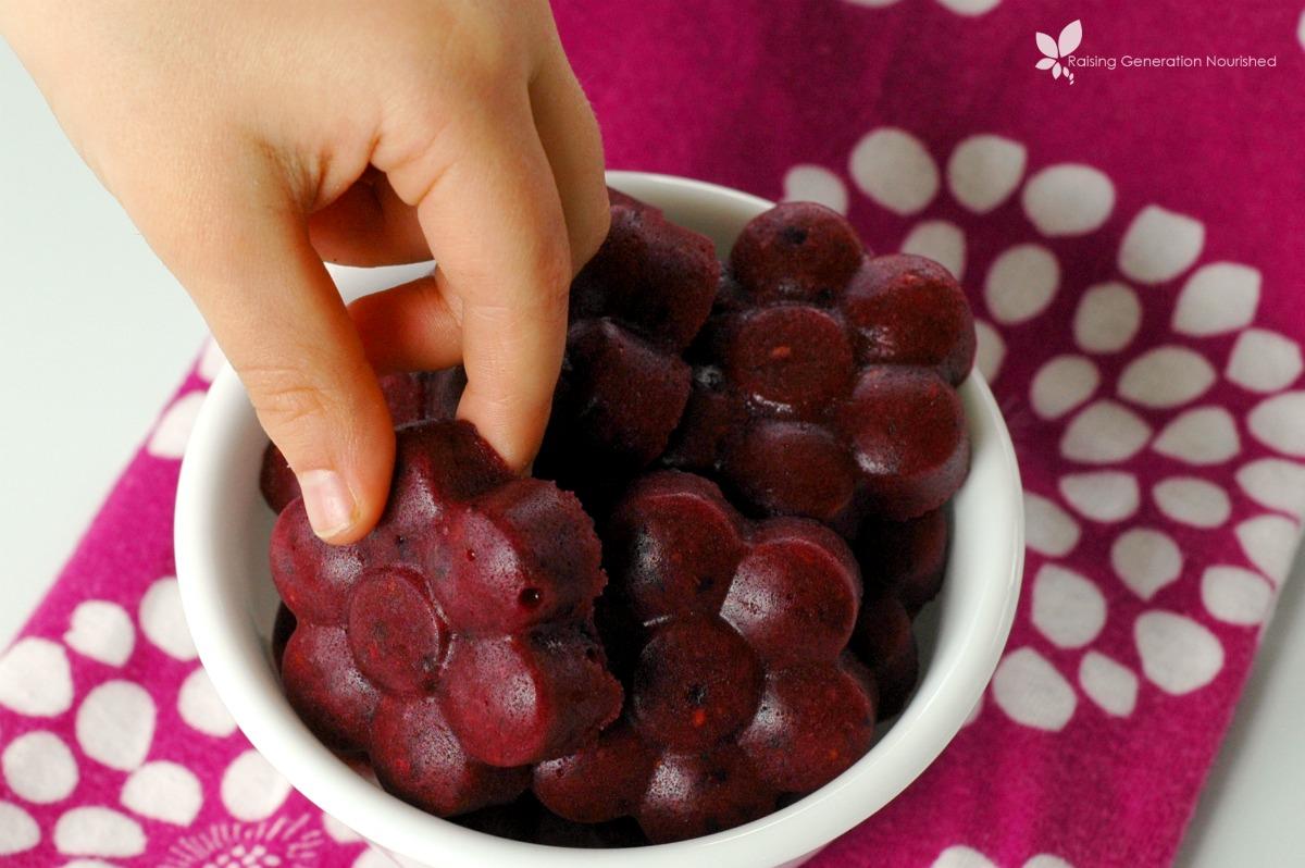 Antioxidant Rich Berry Gummies