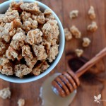 Honey Rhubarb Granola :: Gluten, Egg, & Refined Sugar Free