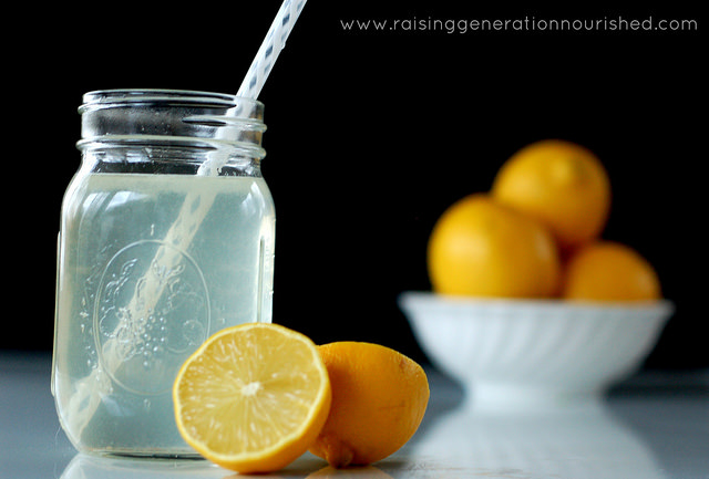 DIY Electrolyte Drink :: Natural rehydration for colds, flu, food poisoning, & physical exertion - Raising Generation Nourished