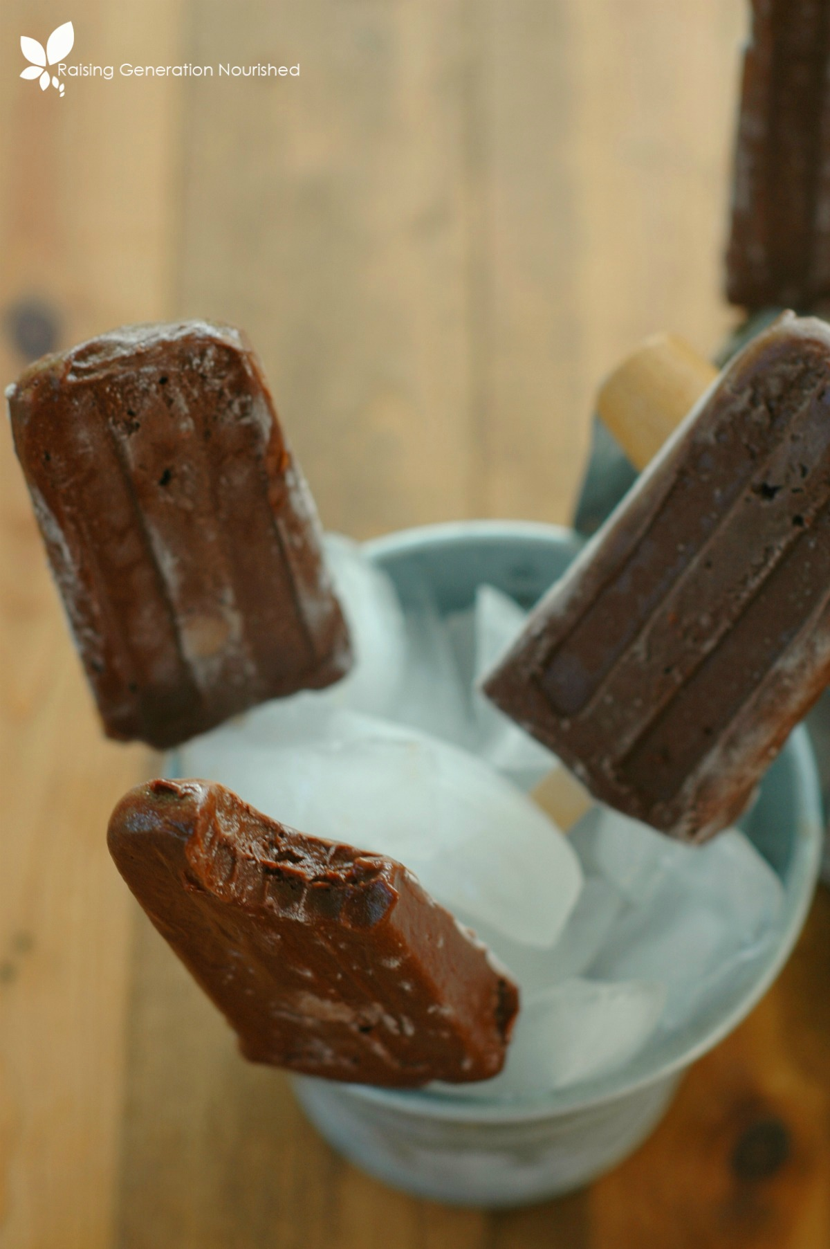 Rich & Creamy Fudgsicles :: Refined Sugar Free With Dairy Free Option