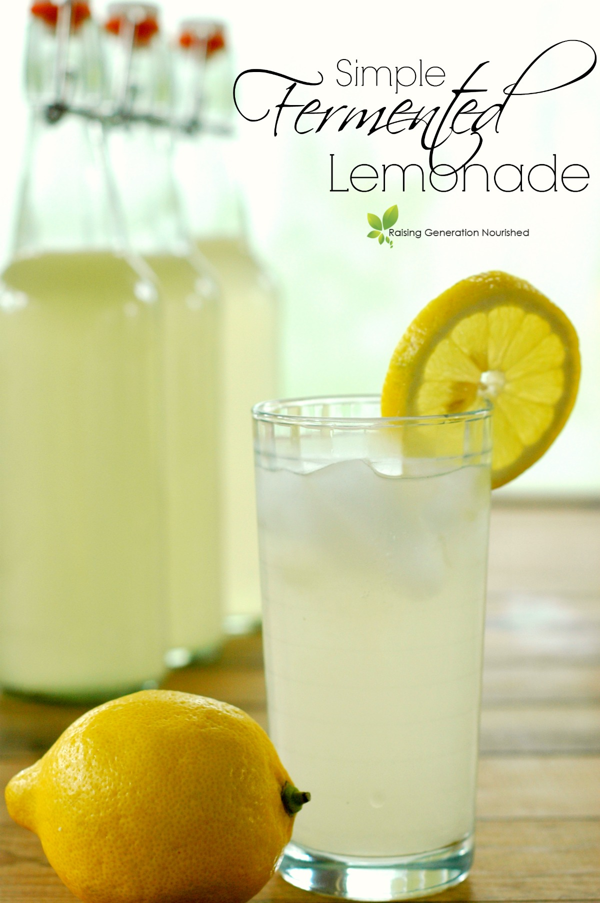 Simple Fermented Lemonade