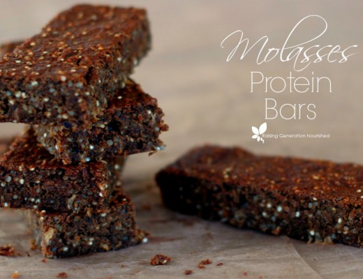 Molasses Protein Snack Bars :: Gluten, Dairy, Nut, & Egg Free