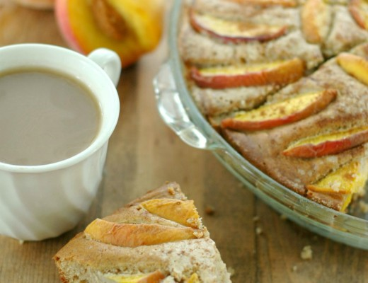 Peach Coffee Cake :: Gluten Free