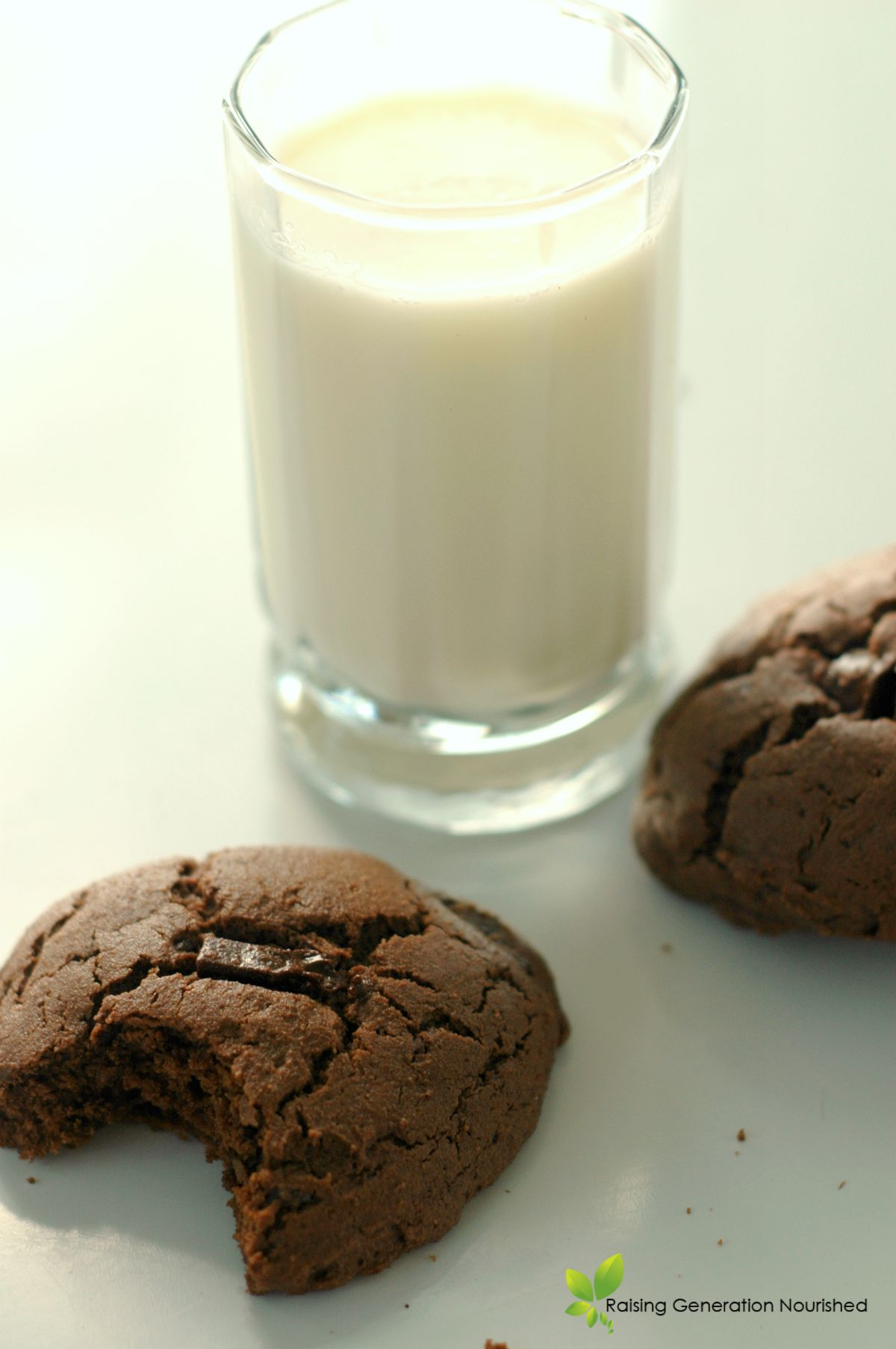 Gluten Free Chocolate Chunk Blender Cookies