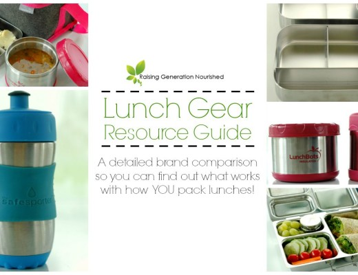 School Lunch Gear Resource Guide :: A detailed brand comparison so you can find out what works with how YOU pack lunches!