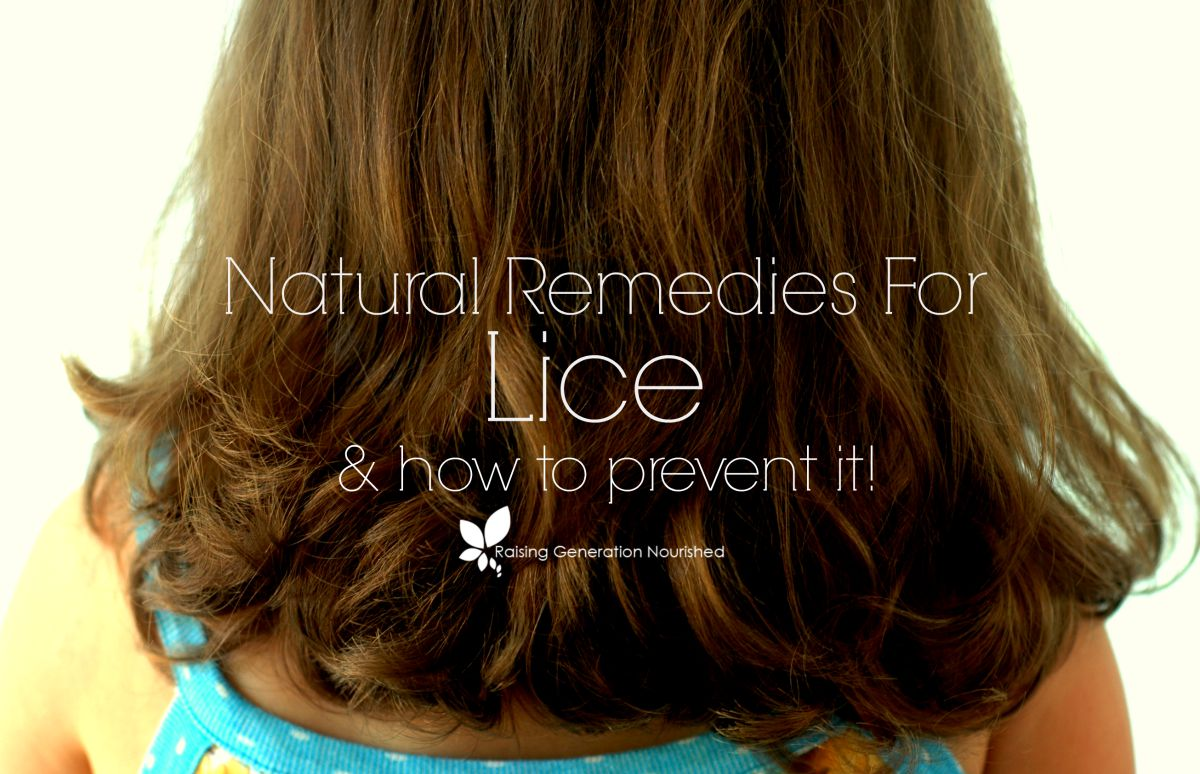 Natural Remedies For Lice & How To Prevent It!