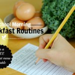 Our School Morning Breakfast Menu & A *FREE* Printable Menu For YOU!