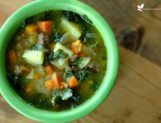Beef & Kale Soup