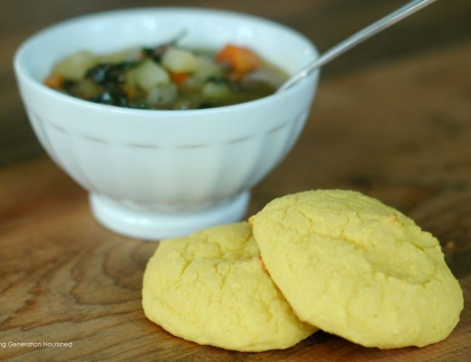 Simple & Quick Blender Squash Drop Biscuits