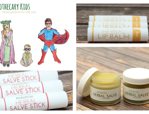 Fall Launch Of Apothacary Kids Herbal Skincare Promo! Get A Free Herbal Salve Stick!