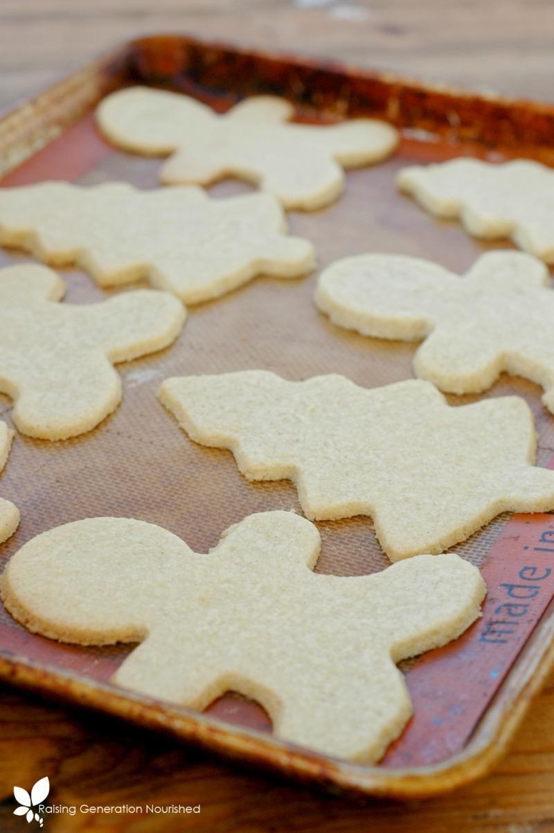 Gluten Free Sugar Cookie Cut Outs
