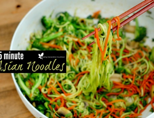 15 Minute Asian Noodles :: Lo Mein Copycat!