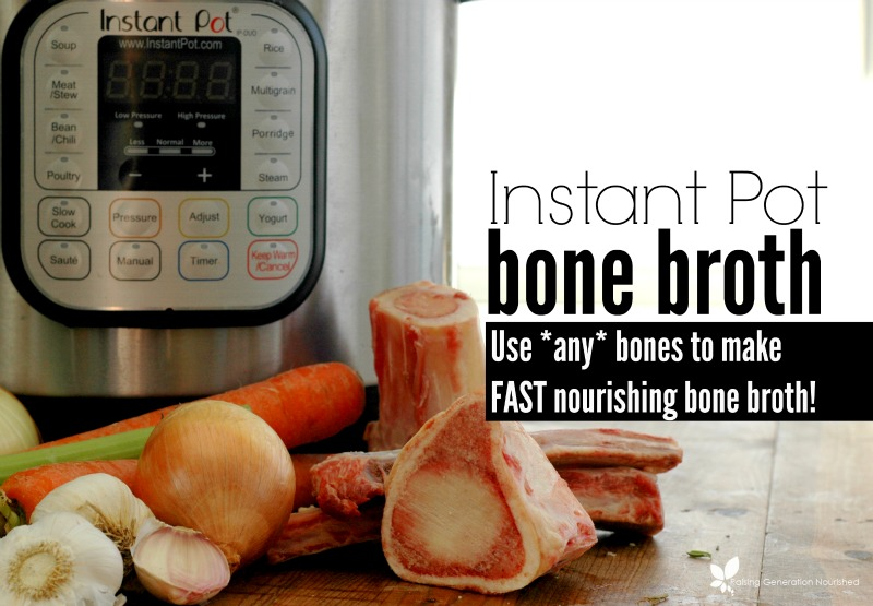 Bone Broth Recipe Instant Pot