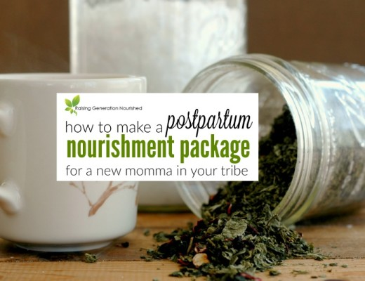 How To Make A Nourishment Package For Postpartum Mom