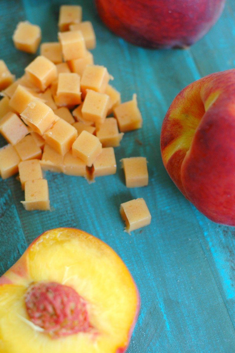Summer Fruit Snacks With Protein Rich Grassfed Gelatin! :: Freshly picked and full of flavor! Summer's best fruit turned kid favorite fruit snacks loaded with protein!