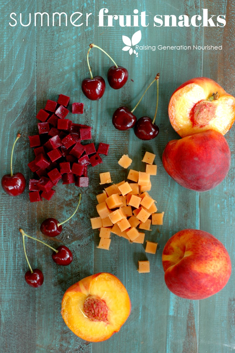 Freshly picked and full of flavor! Summer's best fruit turned kid favorite fruit snacks loaded with protein!