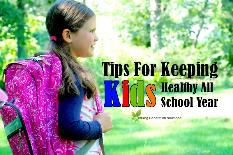 Tips For Keeping Kids Healthy All School Year