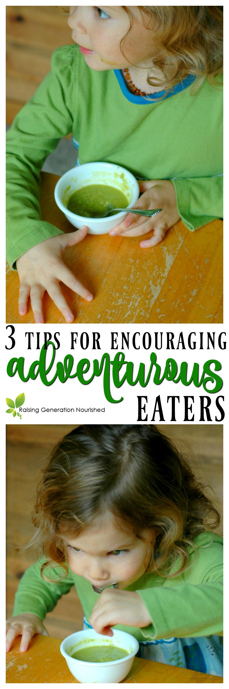 3 Tips For Encouraging Adventurous Eaters :: 3 simple tips you can start today for encouraging your babies and toddlers to be adventurous eaters!