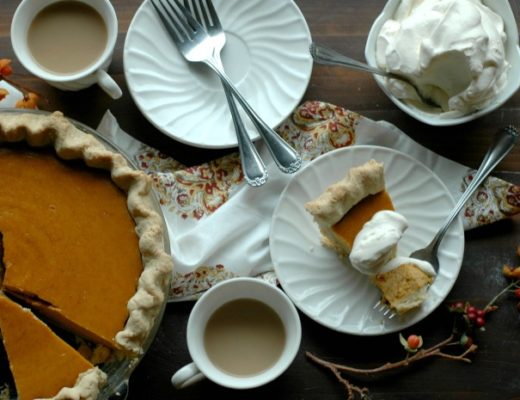 """Busy Momma"" Simple Gluten Free Pumpkin Pie"