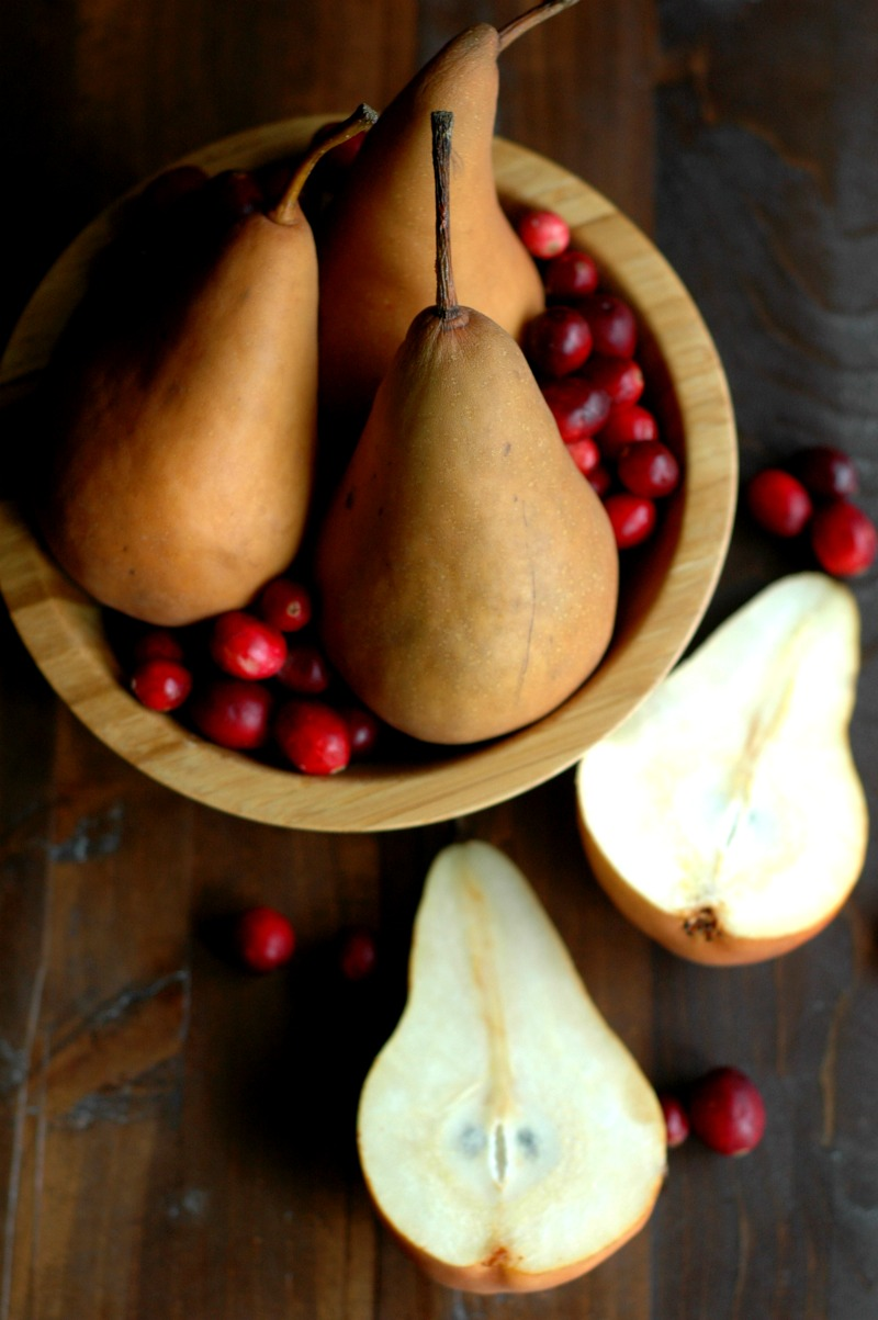 Cranberry Baked Pears :: Paleo, Refined Sugar Free, and Gluten Free!