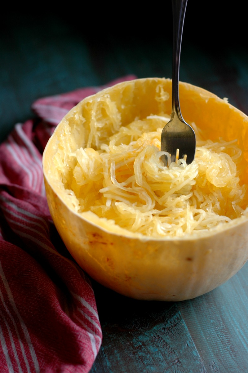 How To Cook Spaghetti Squash in the Instant Pot or Oven PLUS 2 Different Family Friendly Dinners To Use It In!