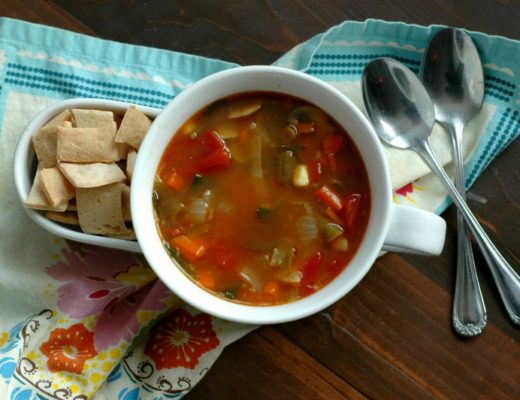 Classic Vegetable Soup :: Bone Broth Packed & Tastes Just Like Campbell's Canned!