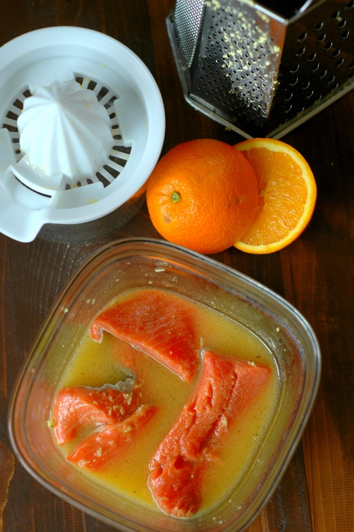 Kid Friendly Orange Ginger Salmon :: Gluten Free & Soy Free!
