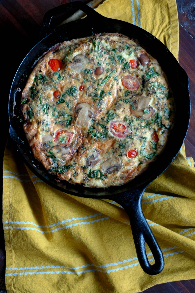 How To Make Any Frittata :: Plus 4 Different Frittata Recipes! :: Paleo Friendly Real Food