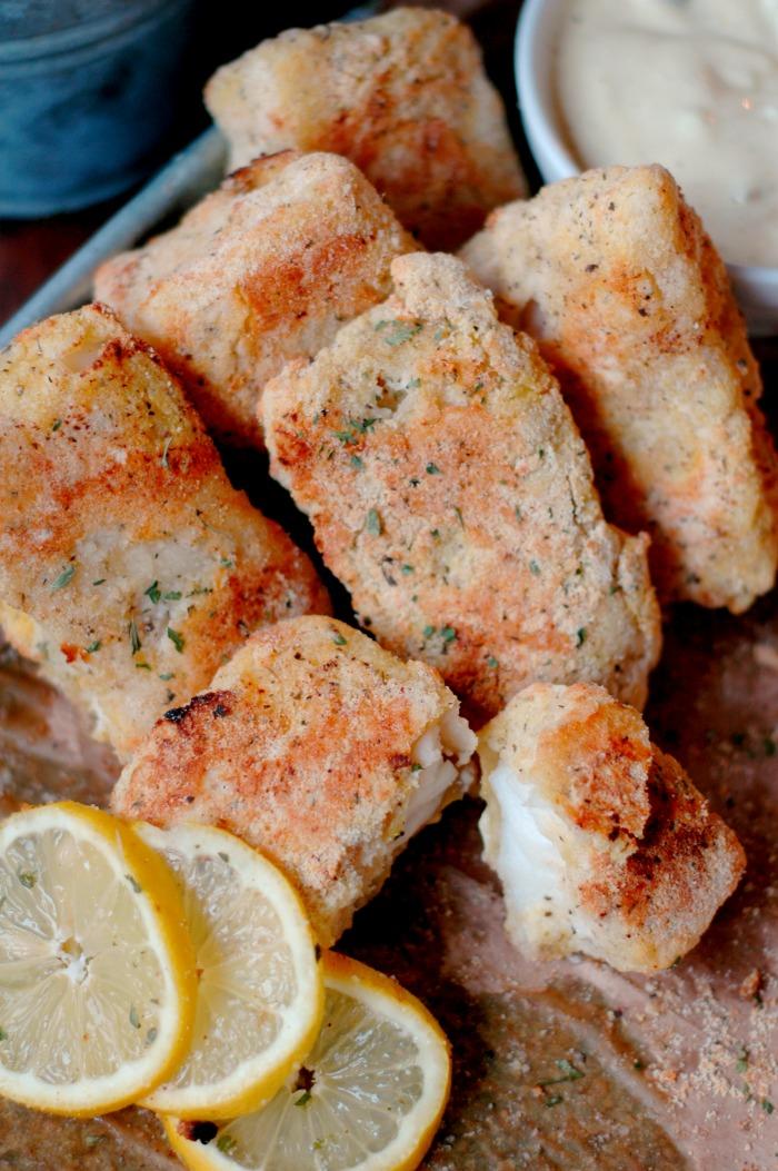 Paleo Fish 'N Chips :: Quick Sheet Pan Prep!