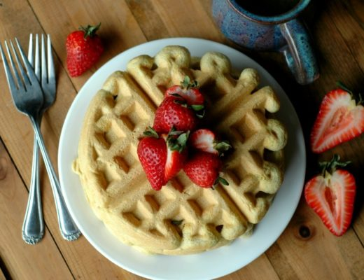 Gluten Free Protein Waffles :: Gluten, Soy, and Refined Sugar Free!