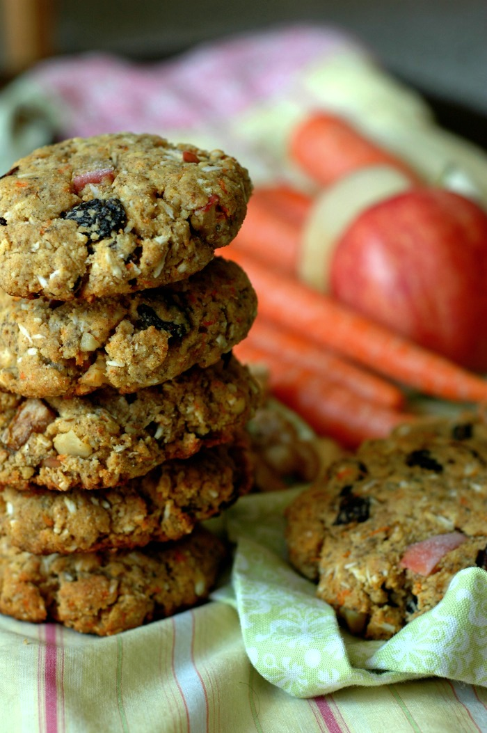 Everything But The Kitchen Sink Paleo Breakfast Cookies