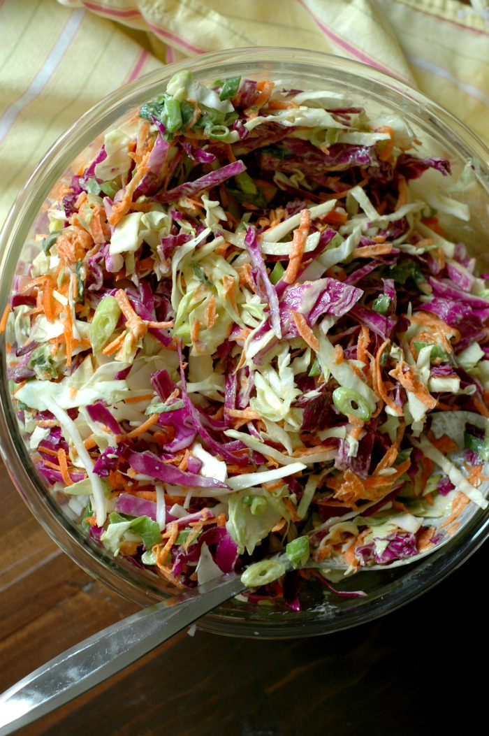 Creamy Paleo Coleslaw :: Egg, Dairy, Gluten, and Soy Free!
