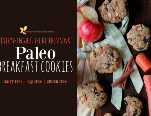 """Everything But The Kitchen Sink"" Paleo Breakfast Cookies! :: Dairy, Gluten, Grain, and Refined Sugar Free with Egg & Nut Free Options!"