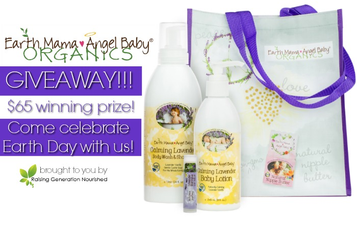 Earth Mama Angel Baby Earth Day Giveaway! :: PLUS! An Earth Day Giveaway Blog Hop!