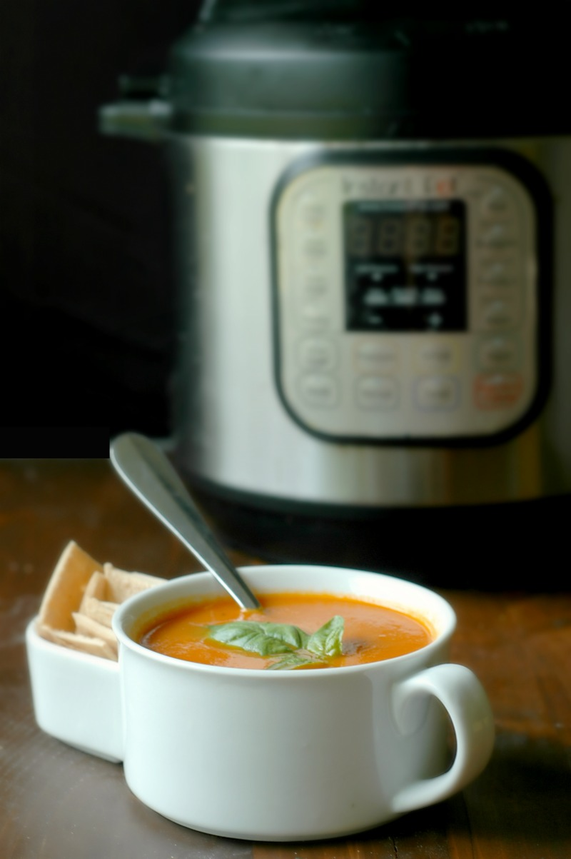 Instant Pot Tomato Soup Tutorial :: Picture Tutorial and Lunch Packing Tips Included!