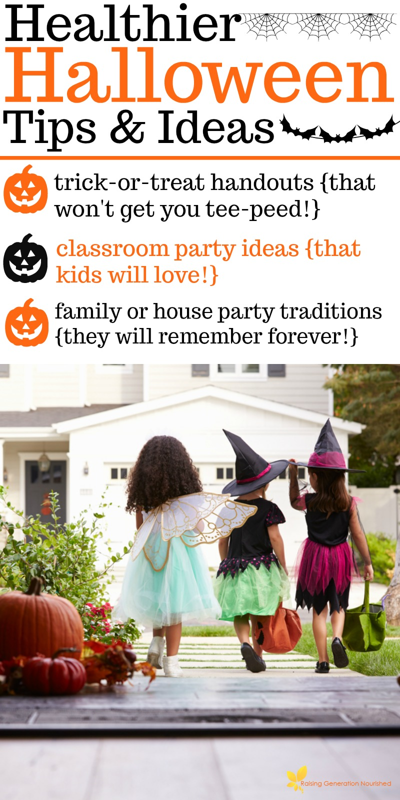celebrate halloween and keep your crunchy momma status with these super fun not lame healthy halloween tips and ideas for home and school