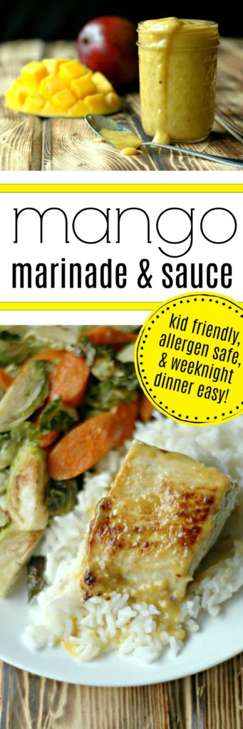 Fresh Mango Marinade and Sauce :: Perfect For Fish, Chicken, Veggies and More!