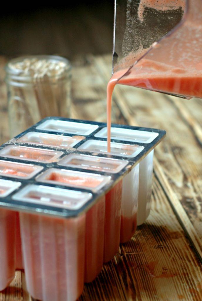 Pineapple Watermelon Popsicles :: Allergen Friendly & Refined Sugar Free!