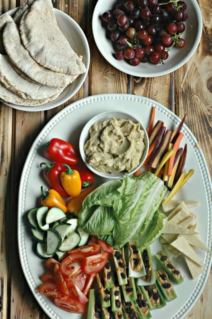 5 Summer Platters For Easy Hot Weather Lunch or Dinner!