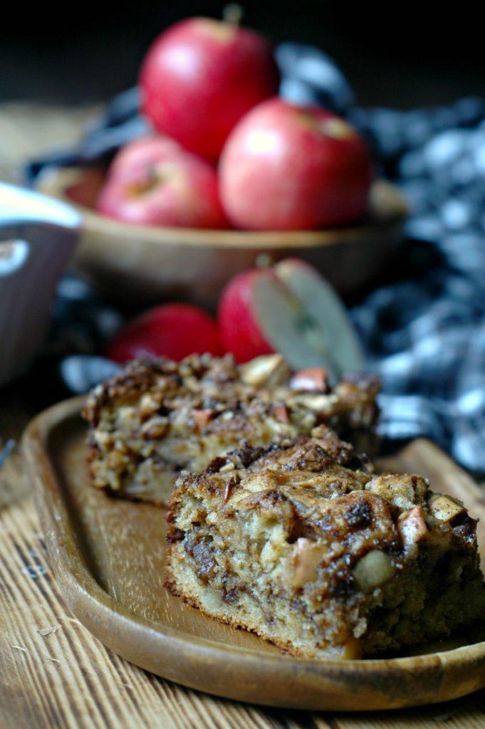 Gluten Free Apple Cinnamon Coffee Cake