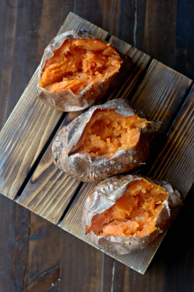 Prep Day Sweet Potatoes and 4 Simple Sweet Potato Breakfast Ideas!