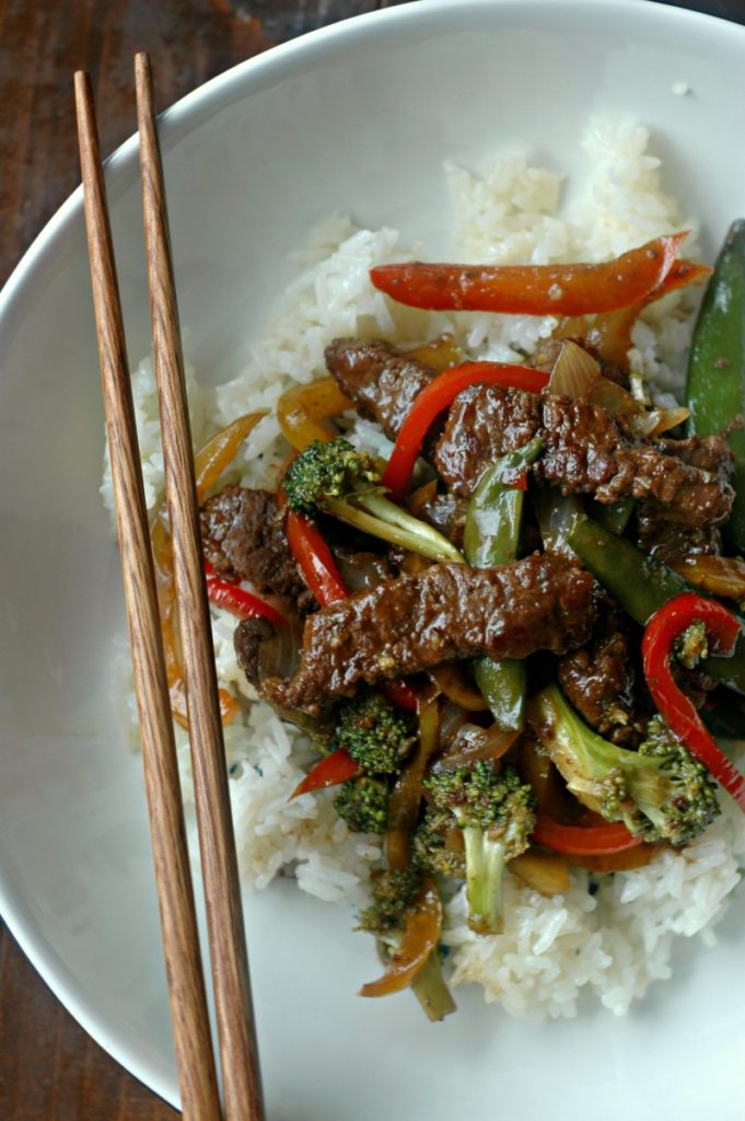 Mongolian Beef and Veggies :: Soy Free, Gluten Free, and Naturally Sweetened!