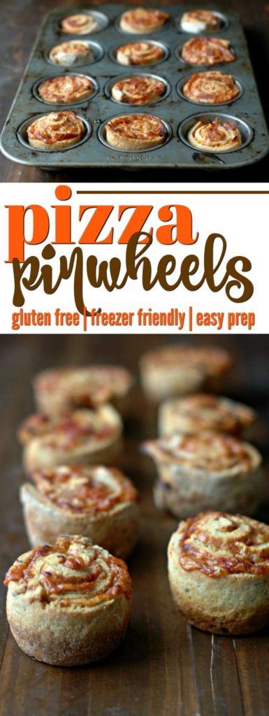 Gluten Free Pizza Pinwheels