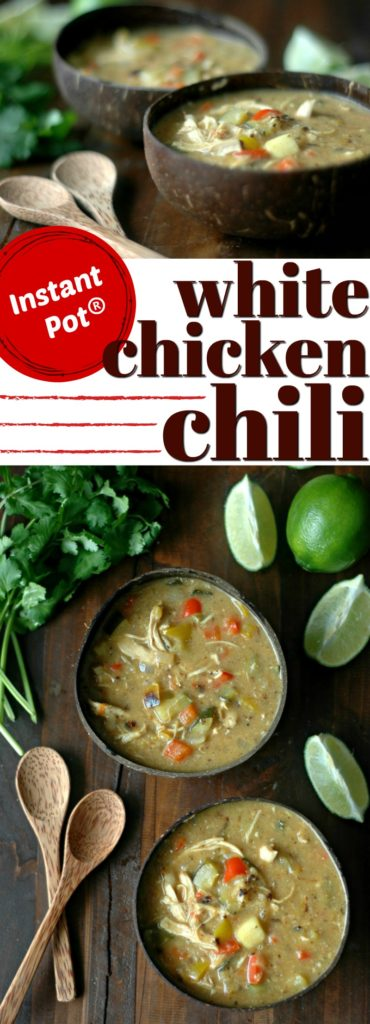 Easy Instant Pot White Chicken Chili