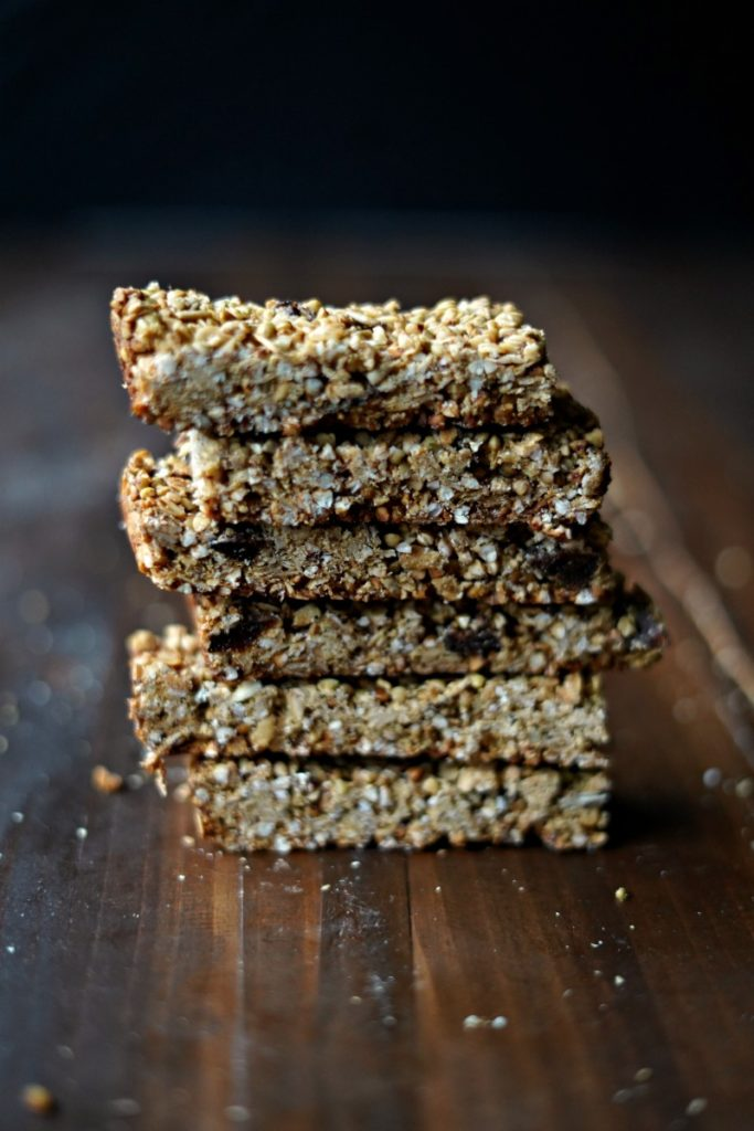 Nut Free Crunchy Buckwheat and Apricot Granola Bars :: Gluten Free, Nut Free, Dairy Free, Soy Free