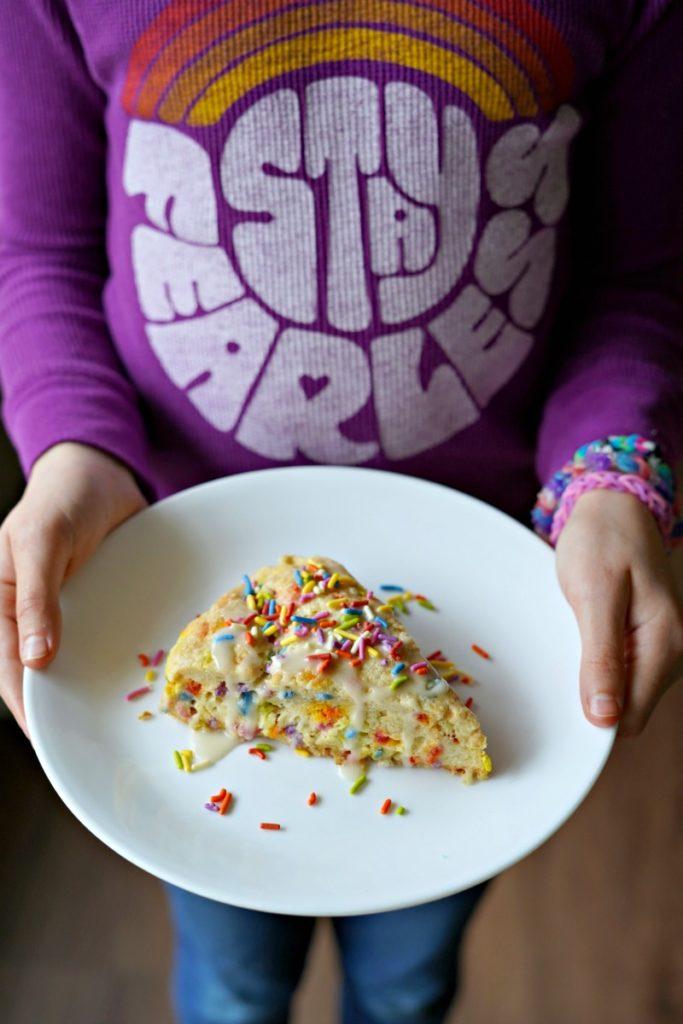 Gluten Free Funfetti® Birthday Scones! :: Gluten, Egg, & Nut Free
