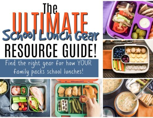 Raising Generation Nourished Lunch Gear Resource Guide